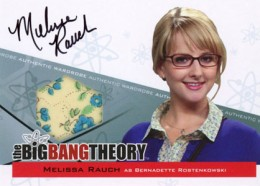 2013 Cryptozoic Big Bang Theory Seasons 3 and 4 Autographs Guide 7