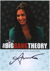 2013 Cryptozoic Big Bang Theory Seasons 3 and 4 Autographs Guide 8