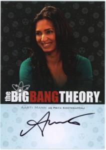 2013 Cryptozoic Big Bang Theory Seasons 3 and 4 Autographs Guide 8