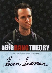 2013 Cryptozoic Big Bang Theory Seasons 3 and 4 Autographs Guide 9