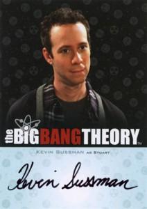 2013 Cryptozoic Big Bang Theory Seasons 3 and 4 Autographs Guide 9