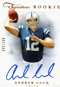 Top 10 Andrew Luck Rookie Cards 8