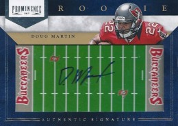 Doug Martin Rookie Cards Checklist and Guide 19