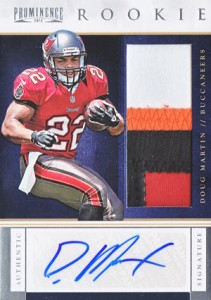 Doug Martin Rookie Cards Checklist and Guide 15