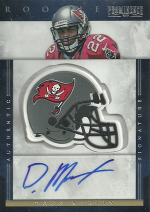 Doug Martin Cards and Autograph Memorabilia Guide 21