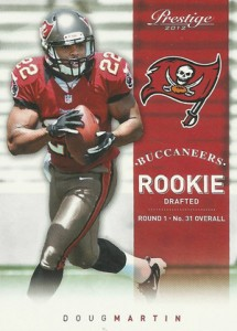 Doug Martin Rookie Cards Checklist and Guide 12