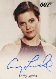 Top 10 James Bond Autographed Trading Cards 8