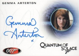 Top 10 James Bond Autographed Trading Cards 9