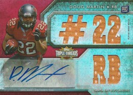 Doug Martin Rookie Cards Checklist and Guide 34