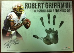 High Five: 2012 Topps Triple Threads Football Adds Autographed Handprint Cards 1