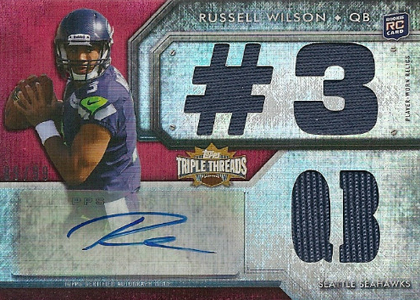 Top 10 Russell Wilson Rookie Cards 2