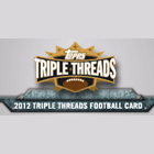 2012 Topps Triple Threads Football Cards