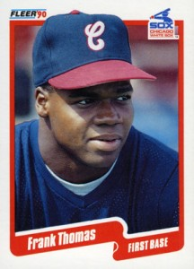 1990 Fleer Update Frank Thomas RC