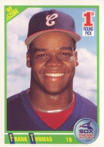 Frank Thomas Rookie Cards and Autograph Memorabilia Guide 5
