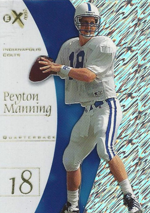 10 Best Peyton Manning Rookie Cards of All-Time 2