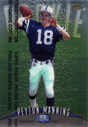 10 Best Peyton Manning Rookie Cards of All-Time 3