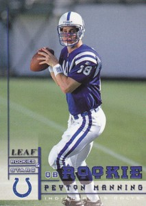10 Best Peyton Manning Rookie Cards of All-Time 5