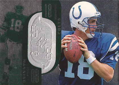 1998 SPx Finite Peyton Manning RC