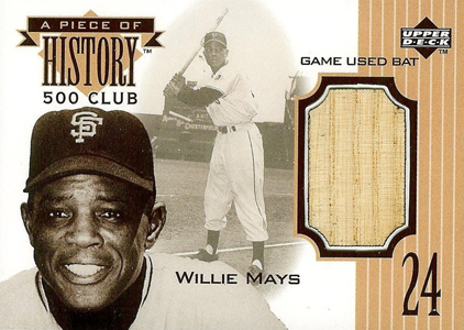 Happy Birthday to The Say Hey Kid! Top 10 Willie Mays Baseball Cards 3