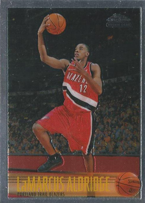 LaMarcus Aldridge Cards and Autograph Memorabilia Guide 22