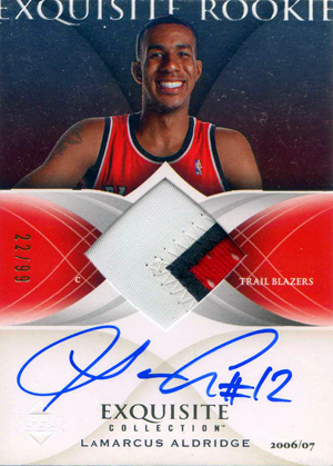 LaMarcus Aldridge Cards and Autograph Memorabilia Guide 27