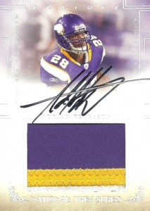 2007 National Treasures Adrian Peterson RC
