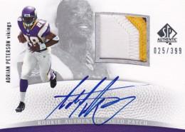2007 SP Authentic Adrian Peterson RC