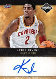 2011-12 Panini Limited Kyrie Irving Autograph Redemption