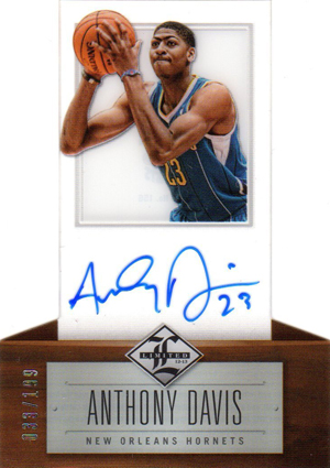 Anthony Davis Rookie Cards Checklist and Gallery 14