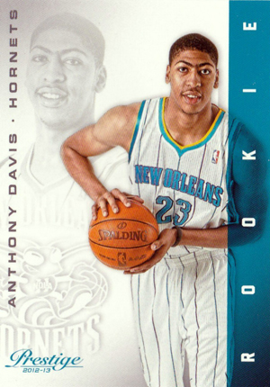 2012-13 Panini Prestige Anthony Davis RC