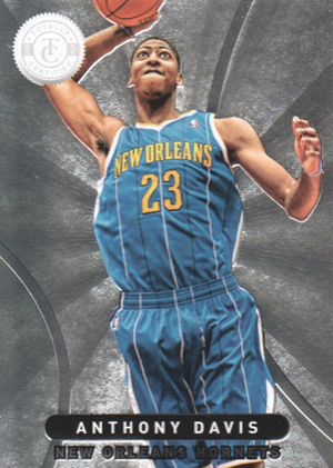 2012-13 Panini Totally Certified Anthony Davis