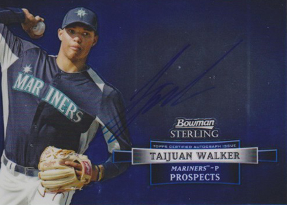 2012 Bowman Sterling Baseball Prospect Autographs Taijuan Walker