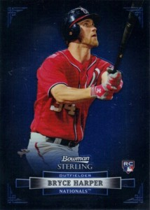 2012 Bowman Sterling Bryce Harper RC