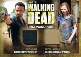 2012 Cryptozoic Walking Dead Season 2 Wardrobe Costume Card Guide 34