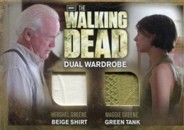 2012 Cryptozoic Walking Dead Season 2 Wardrobe Costume Card Guide 35