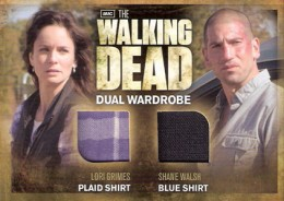 2012 Cryptozoic Walking Dead Season 2 Wardrobe Costume Card Guide 36