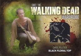 2012 Cryptozoic Walking Dead Season 2 Wardrobe Costume Card Guide 13
