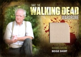 2012 Cryptozoic Walking Dead Season 2 Wardrobe Costume Card Guide 14