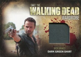2012 Cryptozoic Walking Dead Season 2 Wardrobe Costume Card Guide 16