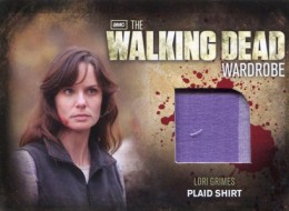 2012 Cryptozoic Walking Dead Season 2 Wardrobe Costume Card Guide 17