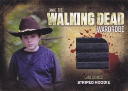 2012 Cryptozoic Walking Dead Season 2 Wardrobe Costume Card Guide 18