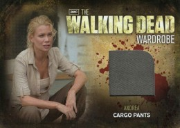 2012 Cryptozoic Walking Dead Season 2 Wardrobe Costume Card Guide 19