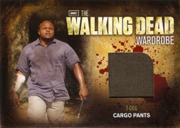 2012 Cryptozoic Walking Dead Season 2 Wardrobe Costume Card Guide 2