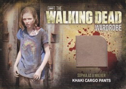 2012 Cryptozoic Walking Dead Season 2 Wardrobe Costume Card Guide 20