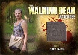 2012 Cryptozoic Walking Dead Season 2 Wardrobe Costume Card Guide 21