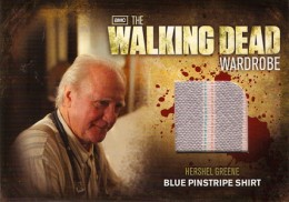 2012 Cryptozoic Walking Dead Season 2 Wardrobe Costume Card Guide 22
