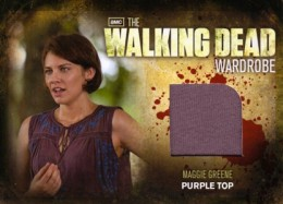 2012 Cryptozoic Walking Dead Season 2 Wardrobe Costume Card Guide 23