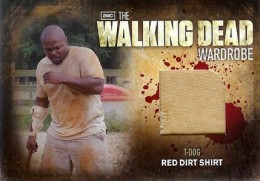 2012 Cryptozoic Walking Dead Season 2 Wardrobe Costume Card Guide 25
