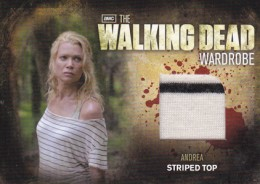 2012 Cryptozoic Walking Dead Season 2 Wardrobe Costume Card Guide 26