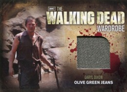 2012 Cryptozoic Walking Dead Season 2 Wardrobe Costume Card Guide 27